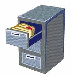 File Cabinet embroidery design