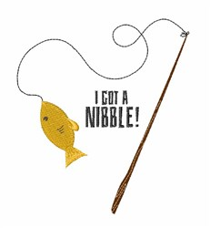 Nibble Pole embroidery design