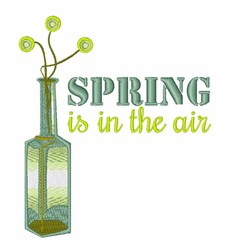 Spring Air embroidery design
