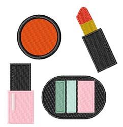 Cosmetics embroidery design
