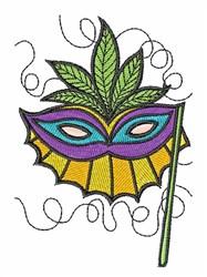Masquerade Mask embroidery design