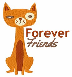 Forever Friends embroidery design