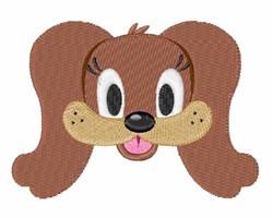 Dog Head embroidery design