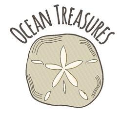 Ocean Treasures embroidery design
