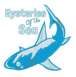 Mysteries Of Sea embroidery design