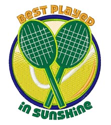 Played In Sunshine embroidery design