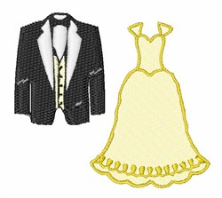 Wedding Clothes embroidery design