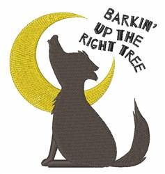 Barkin embroidery design