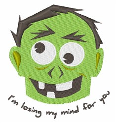 Losing My Mind embroidery design