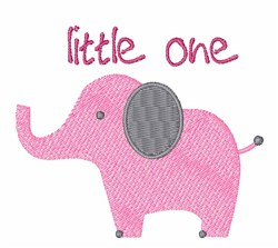 Little One embroidery design