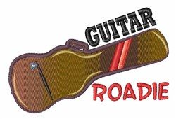 Guitar Roadie embroidery design