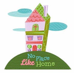 Like Home embroidery design