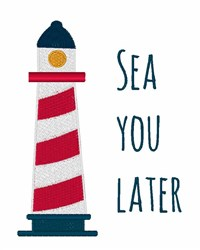 Sea You Later embroidery design