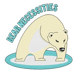 Bear Necessities embroidery design