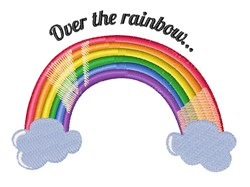 Over the Rainbow embroidery design