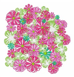 Flowers Plant embroidery design
