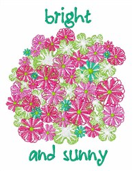 Bright and Sunny embroidery design