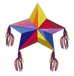 Star Pinata embroidery design