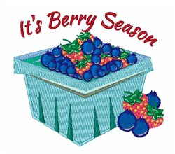 Its Berry Season embroidery design