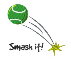 Smash It! embroidery design