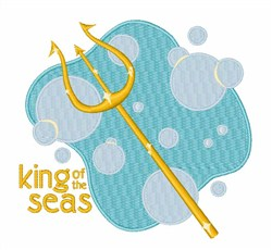 King of the Seas embroidery design