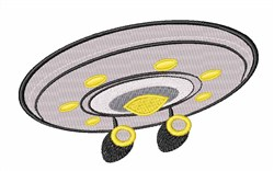 Star Trek Enterprise embroidery design