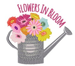 Flowers in Bloom embroidery design