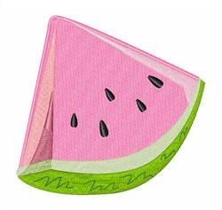 Slice Watermelon embroidery design