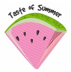 Taste of Summer embroidery design