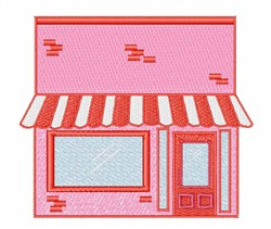 Storefront embroidery design