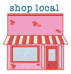 Shop Local embroidery design