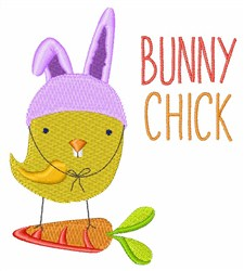 Bunny Chick embroidery design