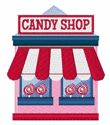 Candy Shop embroidery design