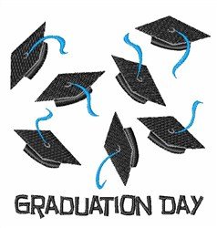 Graduation Day embroidery design