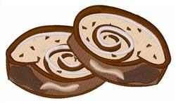 Cinnamon Roll embroidery design