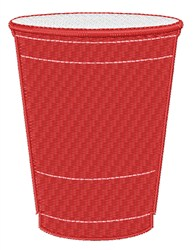 Solo Cup embroidery design