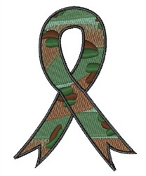 Military Ribbon embroidery design