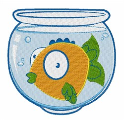 Pet Fish embroidery design