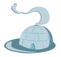 Igloo embroidery design