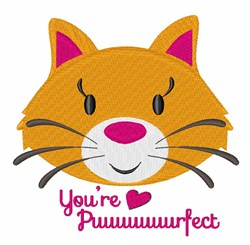 Youre Puuuurfect embroidery design