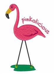 Pinkalicious Flamingo embroidery design