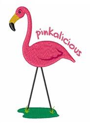 Pinkalicious Flamingo embroidery design