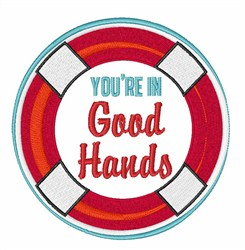 Good Hands embroidery design