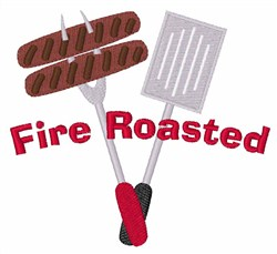 Fire Roasted embroidery design