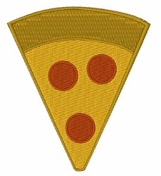 Pizza Slice embroidery design