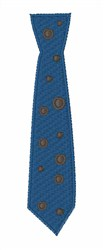 Neck Tie embroidery design