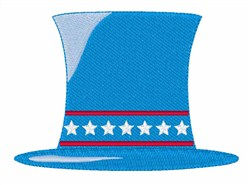 Patriotic Hat embroidery design