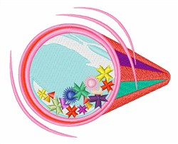 Kaleidoscope embroidery design