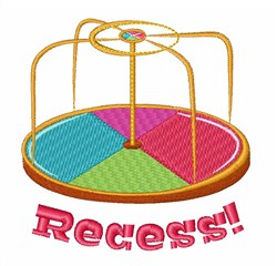 Recess embroidery design