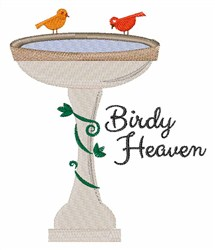 Birdy Heaven embroidery design